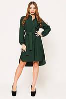 Платье женское Евгения темно зеленый