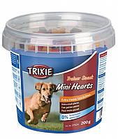 Лакомства Trixie Trainer Snack Mini Hearts для собак с мясом, 200 г