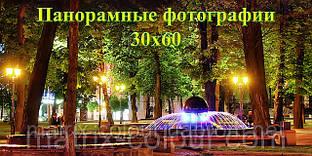 Панорамные фотографии 30х60 Поверхность: Silk