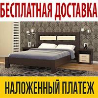 Кровать ВИКТОРИЯ из натурального дерева, деревянная кровать из массива сосны, Da-Kas (Да-Кас)