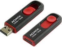 Флешка 16Gb A-DATA C008 Black / AC008-16G-RKD