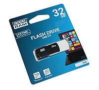 Флешка 32Gb Goodram Colour Mix Black/White / UCO2-0320KWR11