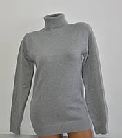 Гольф Many&Many тёплый для девочки-подростка, цвет серый.