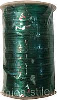 Шнур атласный т-зеленый (3мм толщ) 100м в рул