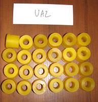 Комплект полиуретановых втулок для Uaz