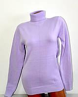 Гольф Many&Many тёплый для девочки-подростка, цвет сиреневый.