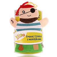Мочалка-рукавичка хлопок ХККО Пират