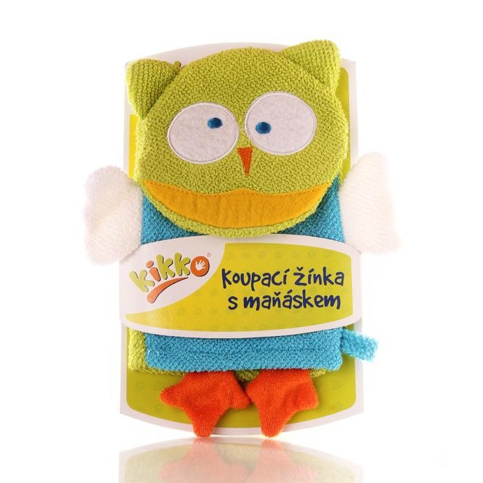 Мочалка-рукавичка ,хлопковая ХККО  Сова NEW