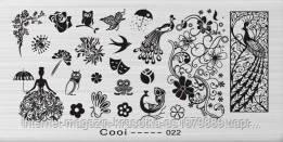 Стемпинг пластина Cooi-022