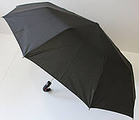 Мужской зонт полуавтомат на 10 спиц с системой антиветер.