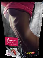 FEMINE PRO смесь сыроватковых белков, вкус Клубника со сливками, 1кг