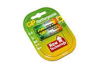 Перезаряжаемая батарейка (аккумулятор) AA, 1800 mAh, GP, 2 шт, 1.2V, Blister (GP180AAHC-2UE2)
