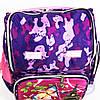 Школьный рюкзак для девочки с жесткой спинкой и 3Д рисунком - фиолетовый - 125, фото 3