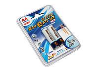 Перезаряжаемая батарейка (аккумулятор) AA, 2700 mAh, Энергия, 2 шт, 1.2V, Blister