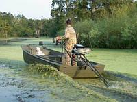Лодки и моторы-болотоходы - пополнение ассортимента в нашем магазине