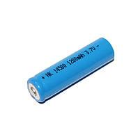 Перезаряжаемая батарейка (аккумулятор) Bailong 14500 Li-ion 1200mah 3.7V blue