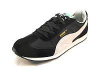 Кроссовки мужские  Puma Whirlwind Classic черно-белые (пума) (р.42,43,44,45)