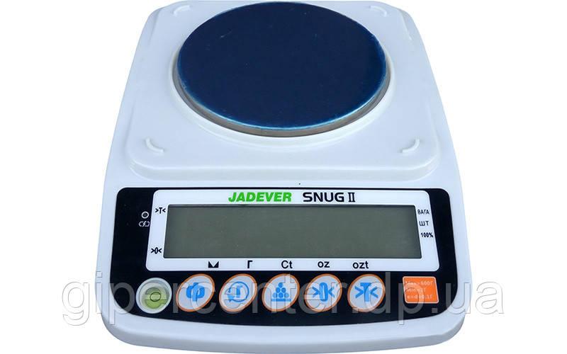 Весы лабораторные Jadever SNUG-II-600-0.1