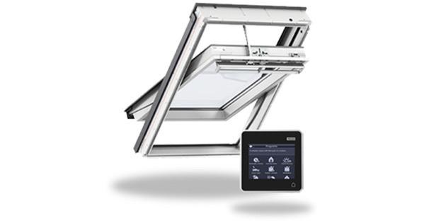 Мансардное окно Velux Premium GGL206621A с дистанционным управлением  INTEGRA® + оклад 78*118см (0414)