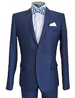 Классический мужской костюм № 92/2-124 - DUZ ENRICO 5