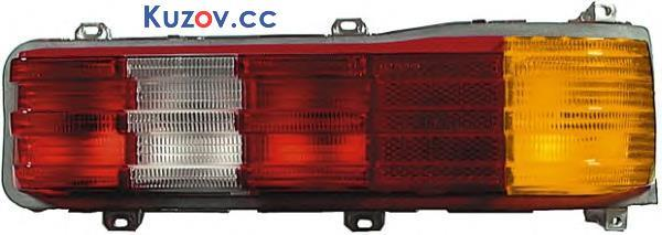Фонарь задний Mercedes 123 76-84 правый (стекло без корпуса) (FPS)