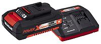 Зарядное устройство + аккумулятор Einhell Power X-Change 18 V / 2,0 Ah Li-Ion