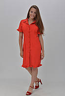 Платье-халат с коротким рукавом размер 38, 40.