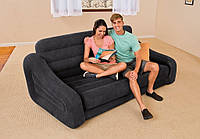 Надувной диван intex 68566  221 х 123 см.
