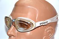 Очки для плавания. Анатомическая форма линз. Антифог. Защита от UV-лучей. Окуляри для плавання