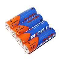 Батарейка AA (LR6), щелочная, PKCELL, 4 шт, 1.5V, Shrink