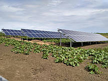 Сетевая солнечная станция 30 кВт, Кировоградская обл., с. Вороновка