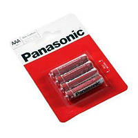 Батарейка AAA (R03), солевая, Panasonic Red Zink, 4 шт, 1.5V, Blister (R03REL/4BP)