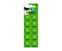 Батарейки AG1/LR621, Videx Excellent!, 10 шт, Blister