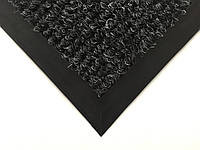 Ковер на резиновом основании 555х400 мм черный