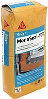 Sika MonoSeal-100 - жесткая однокомпонентная гидроизоляционная смесь, 25 кг
