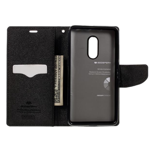 чехол книжка Xiaomi Redmi Note 4X mercury черный