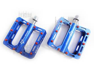 Педали Titanium Aest YMPD10TT Цвет: Синий