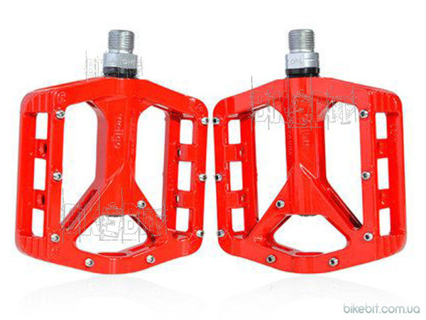 Магниевые педали Wellgo MG-2 Цвет: Красный