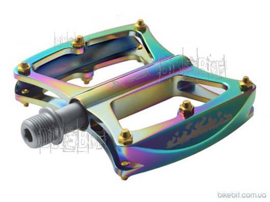 Педали AEST YMPD-09 (RockBros) Цвет: Нефтяное пятно