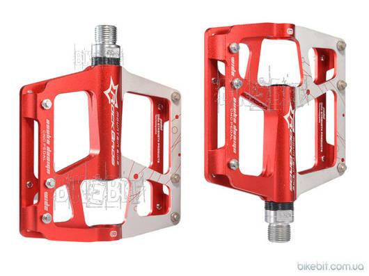 Педали RockBros JT-901 Цвет: Красный