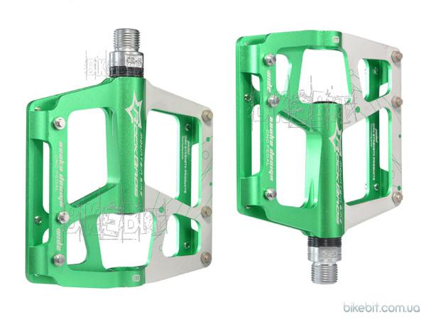 Педали RockBros JT-901 Цвет: Зеленый