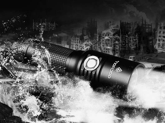 Фонарь Gaciron V5 Cree XM-L U2 Полный комплект+ крепеж в подарок!