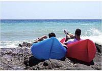 Надувной диван кресло мешок Ламзак (Lamzak) Фиолетовый, фото 1