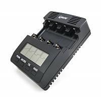 Зарядное устройство Extradigital BM210, Black, 4 x AA/AAA Ni-Cd/Ni-MH, независимые каналы, LCD экран (AAC2827)
