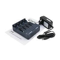 Зарядное устройство Extradigital BC100, Black, 4 x AA/AAA Ni-Cd/Ni-MH, Функция быстрого заряда, 500 mA / 1000 mA (AAC2829)