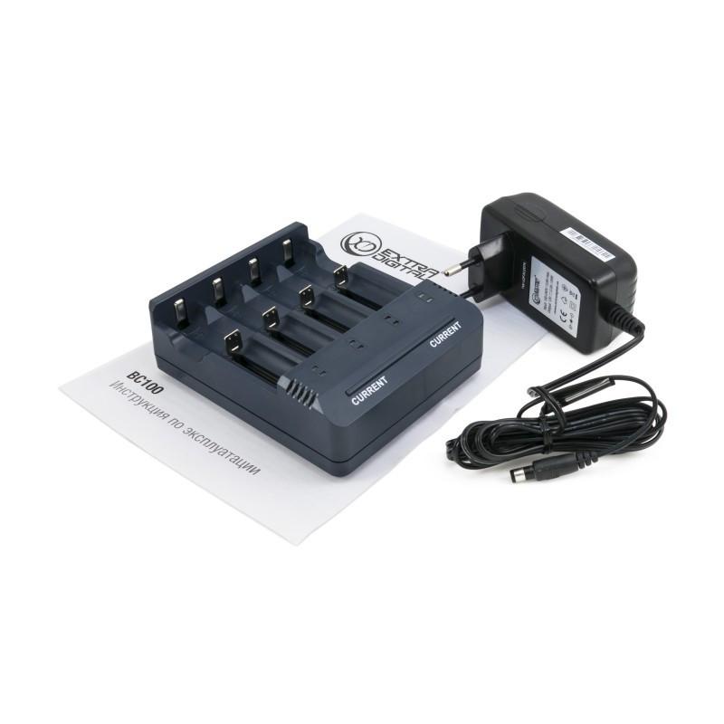 Зарядное устройство Extradigital BC100, Black, 4 x AA/AAA Ni-Cd/Ni-MH,