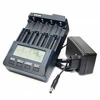 Зарядное устройство Extradigital BM300, Black, 4 x AA/AAA Ni-Cd/Ni-MH, независимые каналы, LCD экран (AAC2815)