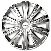 Колпаки на колеса R16 Giga цвет серебро