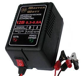 Автоматическое зарядное устройство 0,3-0,8А 12В для  аккумуляторов