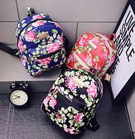 Детский рюкзачок с цветами